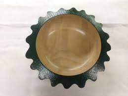 decorative bowls plates dishes it s wooden