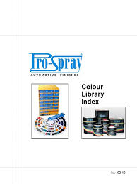 m 133 pro spray colour library index 2 10