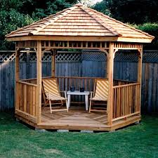 exterior backyard landscape designs gazebos diy deck design front