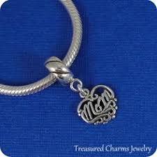 s day charms heart charm sterling silver filigree heart by treasuredcharms