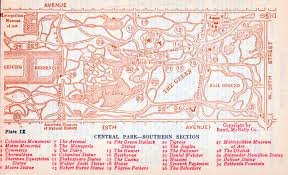 Map Central Park New York Maps Perry Castañeda Map Collection Ut Library Online