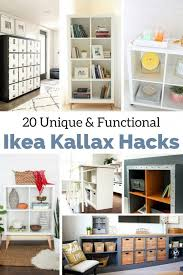 kallax ideas the best ikea kallax hacks and 20 different ways to use them
