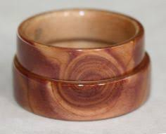 touch wood rings bill s black walnut wood ring with cross spiraled inlays of birch