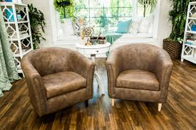 Distress Leather Chair How To Diy Faux Leather Chair Home U0026 Family Hallmark Channel