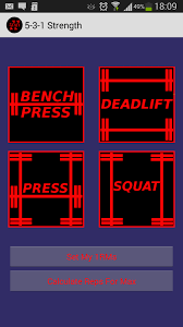 Bench Press Calculater 5 3 1 Calculator Android Apps On Google Play