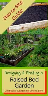 amazing raised bed garden layout online garden gallery image and