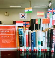 read around the world book display paul v galvin library