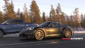 new porsche 2019 2019 porsche 911 spy video youtube
