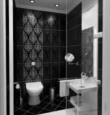 popular black and white small bathroom designs awesome ideas for