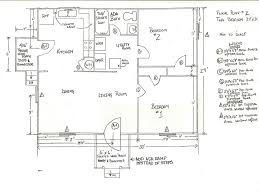example home electrical plan home plan