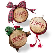 friday craft tree ornaments write from