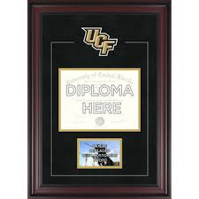 ucf diploma frame ucf knights memorabilia collectibles of central