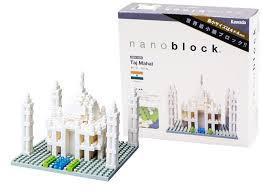 Taj Mahal Floor Plan by Amazon Com Nanoblock Architecture Nbh 008 Taj Mahal Toys U0026 Games