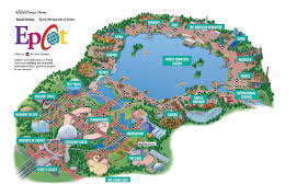 Map Of Disney World Hotels by Walt Disney World Epcot Map