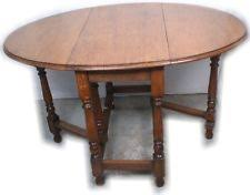 Antique Drop Leaf Table Gateleg Table Ebay