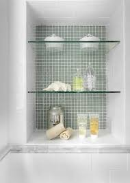 Glass Shelving For Bathrooms How To A Shower Niche That S Not Stuck In A Rut