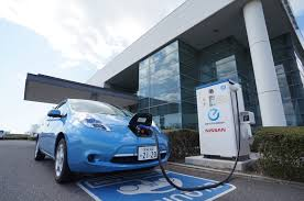 nissan leaf quick charge package nissan inhabitat green design innovation architecture green