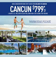 atlanta to cancun deals dove travel cruises international