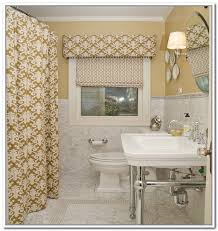 curtains for bathroom windows ideas small bathroom window treatments gen4congress