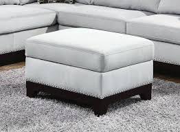 gray storage ottoman footstool with storage colorful storage
