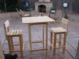 Patio Table And Chairs Set Furniture Cheap Diy Outdoor Counter Height Wooden Patio Table And