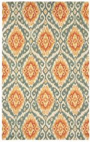 Capel Area Rug by Bedroom Round Grey Rug Ikat Rug
