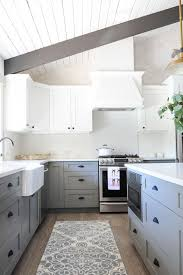 gray and white kitchen cabinets best 25 gray and white kitchen ideas on pinterest grey cabinets