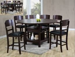Espresso Dining Room Furniture Crownmark Conner Espresso Counter Height Table Set Helen K
