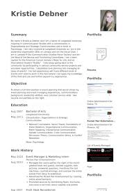 Manager Sample Resume Event Manager Resume Samples Visualcv Resume Samples Database