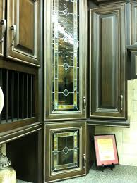 kitchen cabinet door glass inserts