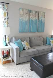 Turquoise Living Room Decor Awesome Accent Wall Ideas For Bedroom Living Room Bathroom And