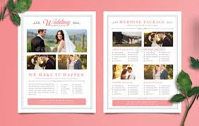 simple wedding planner 23 wedding planner flyer templates free premium
