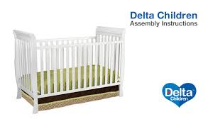 Delta 3 In 1 Convertible Crib Delta Children Charleston Glenwood 3 In 1 Crib Assembly