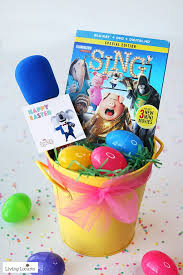 easter table favors candy microphone party favors sing tags
