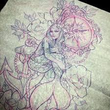 Large Flower Tattoos On - best 25 vintage sleeve ideas on vintage