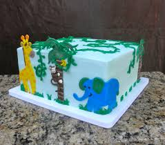 jungle baby shower cake sweet t s cake design jungle baby shower cake