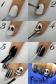 imagenes de uñas decoradas de jalowin pesadilla antes de halloween cada día nos gustan más las manicuras