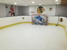 Backyard Hockey Rink by Basement Hockey Rink Basement Chicago By D1 Backyard Rinks