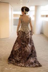 wedding dress batik modern kebaya and petticoat batik wedding dress by rumah kebaya
