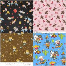 cowboy wrapping paper western fabrics
