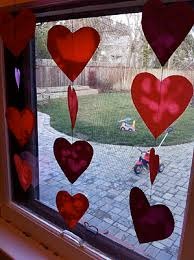 Window Decorations For Valentine S Day by Valentine Craft For Toddlers Oil And Paper U201cstained Glass U201d Window