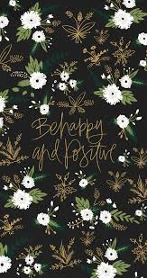 black white green gold floral botanical flowers happy positive