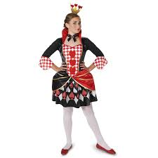 buy queen of hearts tween costume