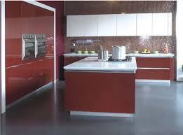 red kitchen furniture cool curve shape white melamine kitchen cabinets come with