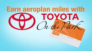 lexus toyota leslie eglinton earn aeroplan miles with toyota on the park youtube