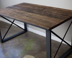 Building A Wood Desk by Furniture How To Build A Table With Reclaimed Barn Wood Stunning