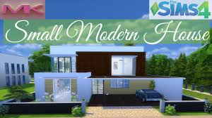 sims 4 house building modern house speed build youtube