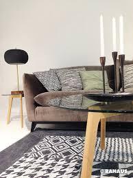 rahaus sofa monochromes bunt sofa stil berlin rahaus teppich couchtisch