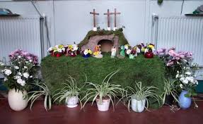 Easter Decorations At Church by Whitstable Baptist Church