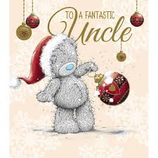fantastic uncle me to you bear christmas card 1 89 osos